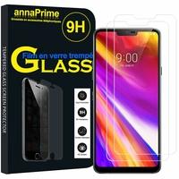 """LG Q9 6.1"""" LM-Q925S/ LM-Q925K/ LM-Q925L [Les Dimensions EXACTES du telephone: 153.2 x 71.9 x 7.9 mm]: Lot / Pack de 2 Films de protection d'écran Verre Trempé"""