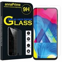 "Samsung Galaxy M10 6.22"" SM-M105F/ M105F/DS [Les Dimensions EXACTES du telephone: 155.6 x 75.6 x 7.7 mm]: 1 Film de protection d'écran Verre Trempé"