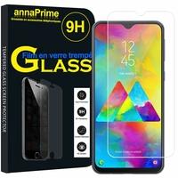 "Samsung Galaxy M20 6.3"" SM-M205F/ M205F/DS [Les Dimensions EXACTES du telephone: 156.4 x 74.5 x 8.8 mm]: 1 Film de protection d'écran Verre Trempé"