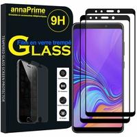 """Samsung Galaxy A9 (2018) 6.3"""" SM-A920F/ Galaxy A9S/ A9 Star Pro (non compatible Galaxy A9 (2016) 6.0""""): Lot / Pack de 2 Films de protection d'écran Verre Trempé"""
