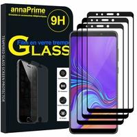 """Samsung Galaxy A9 (2018) 6.3"""" SM-A920F/ Galaxy A9S/ A9 Star Pro (non compatible Galaxy A9 (2016) 6.0""""): Lot / Pack de 3 Films de protection d'écran Verre Trempé"""