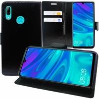 """Huawei P Smart (2019) 6.21"""" POT-LX3/ POT-LX1/ POT-AL00/ POT-LX1AF/ POT-LX2J/ POT-LX1RUA: Accessoire Etui portefeuille Livre Housse Coque Pochette support vidéo cuir PU - NOIR"""