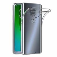 """Motorola Moto G7/ G7 Plus 6.2"""" (non compatible G7 Power/ G7 Play) [Les Dimensions EXACTES du telephone: 157 x 75.3 x 8 mm]: Accessoire Housse Etui Coque gel UltraSlim et Ajustement parfait - TRANSPARENT"""
