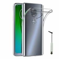 """Motorola Moto G7/ G7 Plus 6.2"""" (non compatible G7 Power/ G7 Play) [Les Dimensions EXACTES du telephone: 157 x 75.3 x 8 mm]: Accessoire Housse Etui Coque gel UltraSlim et Ajustement parfait + mini Stylet - TRANSPARENT"""