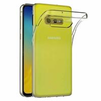 """Samsung Galaxy S10E 5.8""""/ S10E (Essential/ Essentiel) SM-G970F/DS/ SM-G970U/ SM-G970W (non compatible Galaxy S10 5G 6.7""""/ S10+ 6.4""""/ S10 6.1""""): Accessoire Housse Etui Coque gel UltraSlim et Ajustement parfait - TRANSPARENT"""
