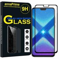 "Huawei Honor 8X 6.5"" (non compatible Honor 8X Max 7.12"") [Les Dimensions EXACTES du telephone: 160.4 x 76.6 x 7.8 mm]: 1 Film de protection d'écran Verre Trempé"