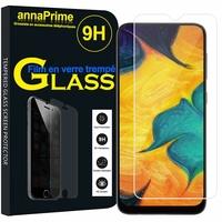 """Samsung Galaxy A30 SM-A305F 6.4"""" [Les Dimensions EXACTES du telephone: 158.5 x 74.5 x 7.7 mm]: 1 Film de protection d'écran Verre Trempé"""