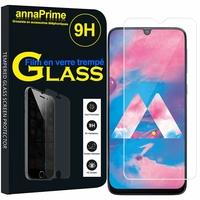 "Samsung Galaxy M30 SM-M305F 6.4"" [Les Dimensions EXACTES du telephone: 159 x 75.1 x 8.4 mm]: 1 Film de protection d'écran Verre Trempé"