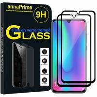 """Huawei Honor 10 Lite 6.21"""" HRY-AL00/ HRY-AL00a/ HRY-TL00 (non compatible Huawei Honor 10 5.84""""): Lot / Pack de 2 Films de protection d'écran Verre Trempé"""