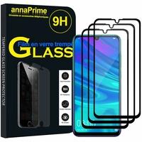 """Huawei P Smart (2019) 6.21"""" POT-LX3/ POT-LX1/ POT-AL00/ POT-LX1AF/ POT-LX2J/ POT-LX1RUA: Lot / Pack de 3 Films de protection d'écran Verre Trempé"""