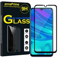 "Huawei P Smart+ (2019)/ P Smart Plus 2019 6.21"" (non compatible Huawei P smart 5.65"" (2017)/ P Smart+ (2018) 6.3""): 1 Film de protection d'écran Verre Trempé"