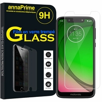 """Motorola Moto G7 Play 5.7"""" (non compatible G7 Power/ G7/ G7 Plus): 1 Film de protection d'écran Verre Trempé"""