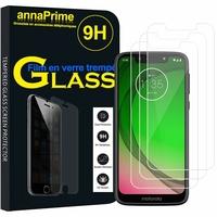 """Motorola Moto G7 Play 5.7"""" (non compatible G7 Power/ G7/ G7 Plus): Lot / Pack de 3 Films de protection d'écran Verre Trempé"""