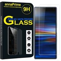 """Sony Xperia 10/ Xperia XA3 6.0"""" I3113 I4113 I4193 I3123 (non compatible Xperia 10 Plus 6.5"""") [Les Dimensions EXACTES du telephone: 155.7 x 68 x 8.4 mm]: 1 Film de protection d'écran Verre Trempé"""