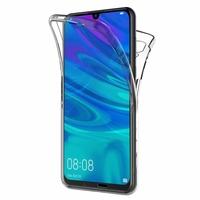 """Huawei P Smart (2019) 6.21"""" POT-LX3/ POT-LX1/ POT-AL00/ POT-LX1AF/ POT-LX2J/ POT-LX1RUA: Coque Housse Silicone Gel TRANSPARENTE ultra mince 360° protection intégrale Avant et Arrière - TRANSPARENT"""