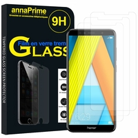 "Huawei Enjoy 8E 5.7"" ATU-AL10 ATU-TL10 (non compatible Huawei Enjoy 8E YOUTH 5.45""): Lot / Pack de 3 Films de protection d'écran Verre Trempé"
