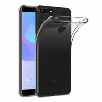 "Huawei Y6 Prime (2018) 5.7"" ATU-L31 ATU-L42 [Les Dimensions EXACTES du telephone: 152.4 x 73 x 7.8 mm]: Accessoire Housse Etui Coque gel UltraSlim et Ajustement parfait - TRANSPARENT"
