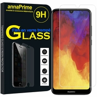 "Huawei Enjoy 9E 6.09"" MRD-AL00 MRD-TL00 (non compatible Huawei Enjoy 9 6.26""/ Enjoy 9s 6.21""/ Enjoy 9 Plus 6.5""): 1 Film de protection d'écran Verre Trempé"