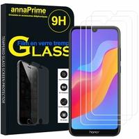 "Huawei Honor Play 8A 6.09"" JAT-AL00 JAT-TL00 (non compatible Honor Play (2018) 6.3""): Lot / Pack de 3 Films de protection d'écran Verre Trempé"