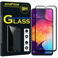 """Samsung Galaxy A50 SM-A505F 6.4"""" [Les Dimensions EXACTES du telephone: 158.5 x 74.7 x 7.7 mm]: 1 Film de protection d'écran Verre Trempé"""
