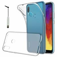 """Huawei Enjoy 9E 6.09"""" MRD-AL00 MRD-TL00 (non compatible Huawei Enjoy 9 6.26""""/ Enjoy 9s 6.21""""/ Enjoy 9 Plus 6.5""""): Accessoire Housse Etui Coque gel UltraSlim et Ajustement parfait + mini Stylet - TRANSPARENT"""