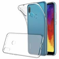"""Huawei Y6 (2019)/ Y6 Prime (2019) 6.09"""" (non compatible Huawei Y6 (2017)/ Y6 (2018)) [Les Dimensions EXACTES du telephone: 156.3 x 73.5 x 8 mm]: Accessoire Housse Etui Coque gel UltraSlim et Ajustement parfait - TRANSPARENT"""