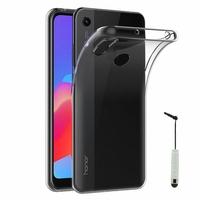 """Huawei Honor 8A Pro/ Honor 8A 6.09"""" JAT-L41 JAT-AL00 JAT-TL00 (non compatible Honor 8 Pro 5.7""""): Accessoire Housse Etui Coque gel UltraSlim et Ajustement parfait + mini Stylet - TRANSPARENT"""