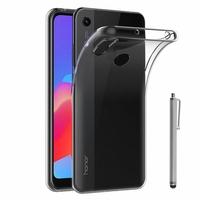 """Huawei Honor 8A Pro/ Honor 8A 6.09"""" JAT-L41 JAT-AL00 JAT-TL00 (non compatible Honor 8 Pro 5.7""""): Accessoire Housse Etui Coque gel UltraSlim et Ajustement parfait + Stylet - TRANSPARENT"""