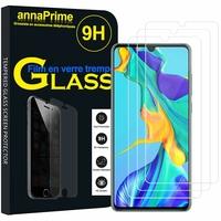 """Huawei P30 6.1"""" ELE-L29/ ELE-L09/ ELE-AL00/ ELE-TL00 (non compatible Huawei P30 Lite/ P30 Pro): Lot / Pack de 3 Films de protection d'écran Verre Trempé"""