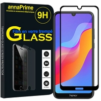 "Huawei Honor 8A Pro/ Honor 8A 6.09"" JAT-L41 JAT-AL00 JAT-TL00 (non compatible Honor 8 Pro 5.7""): 1 Film de protection d'écran Verre Trempé"