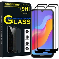 "Huawei Honor 8A Pro/ Honor 8A 6.09"" JAT-L41 JAT-AL00 JAT-TL00 (non compatible Honor 8 Pro 5.7""): Lot / Pack de 2 Films de protection d'écran Verre Trempé"