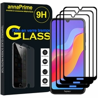 "Huawei Honor 8A Pro/ Honor 8A 6.09"" JAT-L41 JAT-AL00 JAT-TL00 (non compatible Honor 8 Pro 5.7""): Lot / Pack de 3 Films de protection d'écran Verre Trempé"