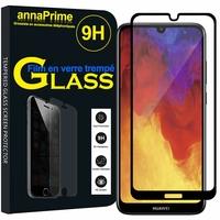 """Huawei Y6 (2019)/ Y6 Prime (2019) 6.09"""" (non compatible Huawei Y6 (2017)/ Y6 (2018)) [Les Dimensions EXACTES du telephone: 156.3 x 73.5 x 8 mm]: 1 Film de protection d'écran Verre Trempé"""