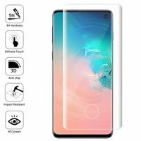 """Samsung Galaxy S10 6.1"""" (non compatible Galaxy S10 5G 6.7""""/ S10+ 6.4""""/ S10e 5.8""""): 1 Film en Verre Trempé Bord Incurvé Resistant"""