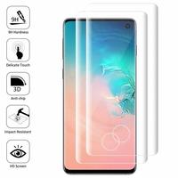 """Samsung Galaxy S10 6.1"""" (non compatible Galaxy S10 5G 6.7""""/ S10+ 6.4""""/ S10e 5.8""""): Lot/ Pack de 2 Films en Verre Trempé Bord Incurvé Resistant"""