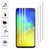 """Samsung Galaxy S10E 5.8""""/ S10E (Essential/ Essentiel) SM-G970F/DS/ SM-G970U/ SM-G970W (non compatible Galaxy S10 5G 6.7""""/ S10+ 6.4""""/ S10 6.1""""): Lot/ Pack de 3 Films en Verre Trempé Bord Incurvé Resistant"""