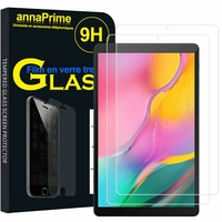 "Samsung Galaxy Tab A 10.1 (2019) 10.1"" SM-T510/ SM-T515 (non compatible Galaxy Tab A 10.1 (2016)): Lot / Pack de 2 Films de protection d'écran Verre Trempé"