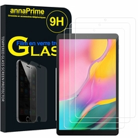 "Samsung Galaxy Tab A 10.1 (2019) 10.1"" SM-T510/ SM-T515 (non compatible Galaxy Tab A 10.1 (2016)): Lot / Pack de 3 Films de protection d'écran Verre Trempé"