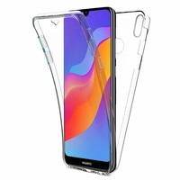 """Huawei Honor Play 8A 6.09"""" JAT-AL00 JAT-TL00 (non compatible Honor Play (2018) 6.3""""): Coque Housse Silicone Gel TRANSPARENTE ultra mince 360° protection intégrale Avant et Arrière - TRANSPARENT"""