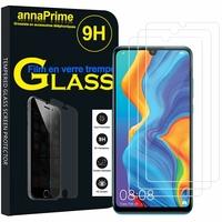 """Huawei Nova 4e 6.15"""" MAR-LX2/ MAR-AL00/ MAR-TL00 (non compatible Huawei Nova 4 6.4""""): Lot / Pack de 3 Films de protection d'écran Verre Trempé"""