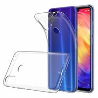 """Xiaomi Redmi Note 7S 6.3"""" M1901F71 [Les Dimensions EXACTES du telephone: 159.2 x 75.2 x 8.1 mm]: Accessoire Housse Etui Coque gel UltraSlim et Ajustement parfait - TRANSPARENT"""