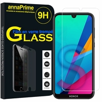 "Huawei Honor 8S 5.71"" KSE-LX9 (non compatible Honor 8 5.2"") [Les Dimensions EXACTES du telephone: 147.1 x 70.8 x 8.5 mm]: 1 Film de protection d'écran Verre Trempé"