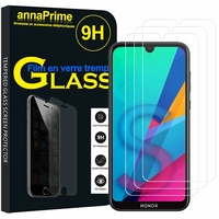 "Huawei Honor 8S 5.71"" KSE-LX9 (non compatible Honor 8 5.2"") [Les Dimensions EXACTES du telephone: 147.1 x 70.8 x 8.5 mm]: Lot / Pack de 3 Films de protection d'écran Verre Trempé"