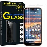 """Nokia 4.2 (2019) 5.71"""" [Les Dimensions EXACTES du telephone: 149 x 71.3 x 8.4 mm]: Lot / Pack de 2 Films de protection d'écran Verre Trempé"""