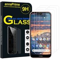 """Nokia 4.2 (2019) 5.71"""" [Les Dimensions EXACTES du telephone: 149 x 71.3 x 8.4 mm]: Lot / Pack de 3 Films de protection d'écran Verre Trempé"""