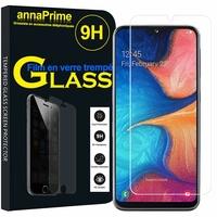 """Samsung Galaxy A20E/ A20e Dual SIM 5.8"""" SM-A202F/ SM-A202F/DS (non compatible Galaxy A20 6.4""""): 1 Film de protection d'écran Verre Trempé"""