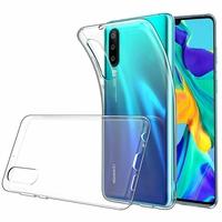 """Huawei P30 6.1"""" ELE-L29/ ELE-L09/ ELE-AL00/ ELE-TL00 (non compatible Huawei P30 Lite/ P30 Pro): Accessoire Housse Etui Coque gel UltraSlim et Ajustement parfait - TRANSPARENT"""