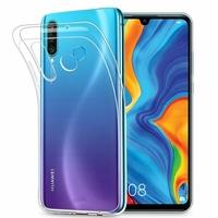 """Huawei P30 Lite 6.15"""" MAR-LX1M/ MAR-AL00/ MAR-TL00 (non compatible Huawei P30/ P30 Pro): Accessoire Housse Etui Coque gel UltraSlim et Ajustement parfait - TRANSPARENT"""
