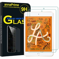 "Apple iPad mini (2019) 7.9""/ iPad mini 5/ iPad mini (5th generation) A2126 A2124 A2133 A2125: Lot / Pack de 2 Films de protection d'écran Verre Trempé"