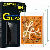 "Apple iPad mini (2019) 7.9""/ iPad mini 5/ iPad mini (5th generation) A2126 A2124 A2133 A2125: Lot / Pack de 3 Films de protection d'écran Verre Trempé"